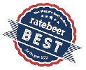 Best Award from Rate Beer