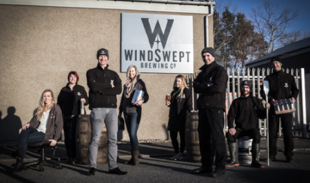Team of Windswept Brewing Co, Scottish Craft Brewery