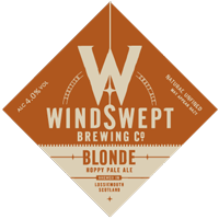 Windswept Brewing Blonde pump clip