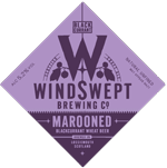 marooned purple wheat beer from Windswept Brewing Co