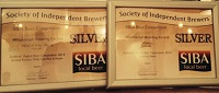 SIBA Awards for Weizen and Wolf of Glen Moray