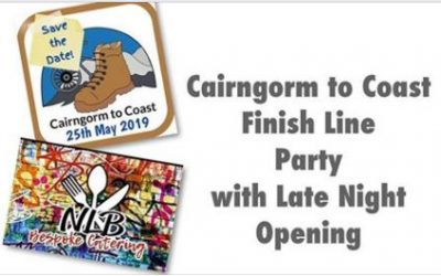 CAIRNGORM2COAST FINISH LINE PARTY @ THE TAP ROOM