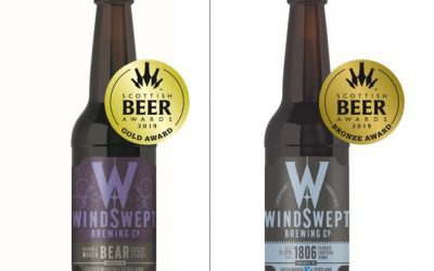 GOLD AND BRONZE FOR WINDSWEPT AT SCOTTISH BEER AWARDS