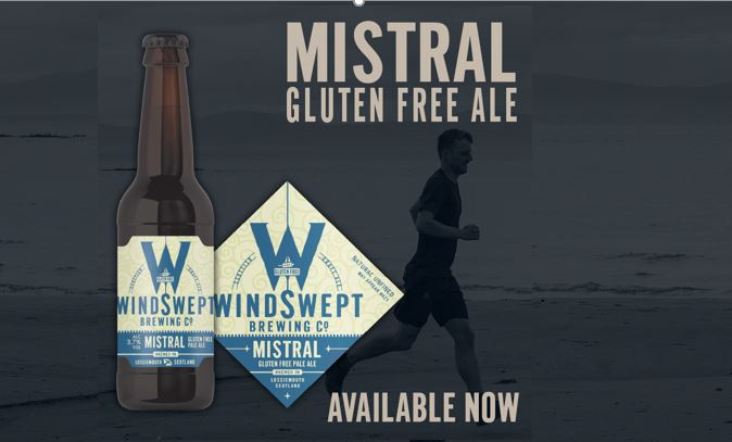 WINDSWEPT ADD GLUTEN-FREE BEER TO THE RANGE