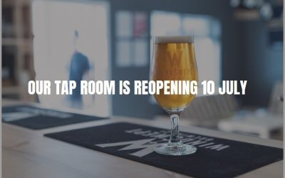 Tap Room to re open 10 July