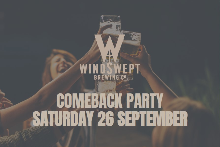 SUPPORT OUR CROWDFUNDER COMEBACK PARTY