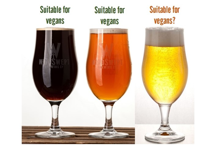 WHAT MAKES BEER VEGAN?